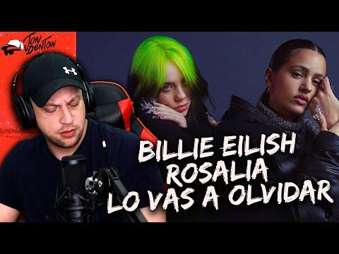 Billie Eilish, ROSALÍA – Lo Vas A Olvidar (Official Music Video) REACTION! | BILLIE IN SPANISH!