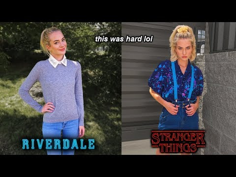 Dressing Like TV Show Characters For A Week