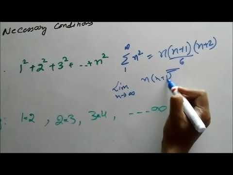 Convergent and Divergent Series [Hindi] - Maths