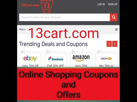 Online Shopping Coupon Code in India 2017 | 13cart.com