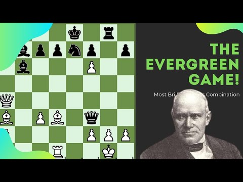 Download The Evergreen Game   The Most Beautiful Chess Game   Best Chess Combinations   Anderssen vs Dufresne