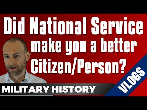 Did National Service make you a better Citizen/Person?
