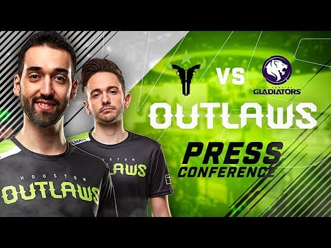 Houston Outlaws Press Conference Stage 2 Week 4 (Los Angeles Gladiators)