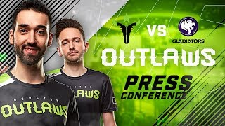 Download Video Houston Outlaws Press Conference Stage 2 Week 4 (Los Angeles Gladiators) MP3 3GP MP4