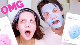 GROSS FACE MASKS ... OMG !!!