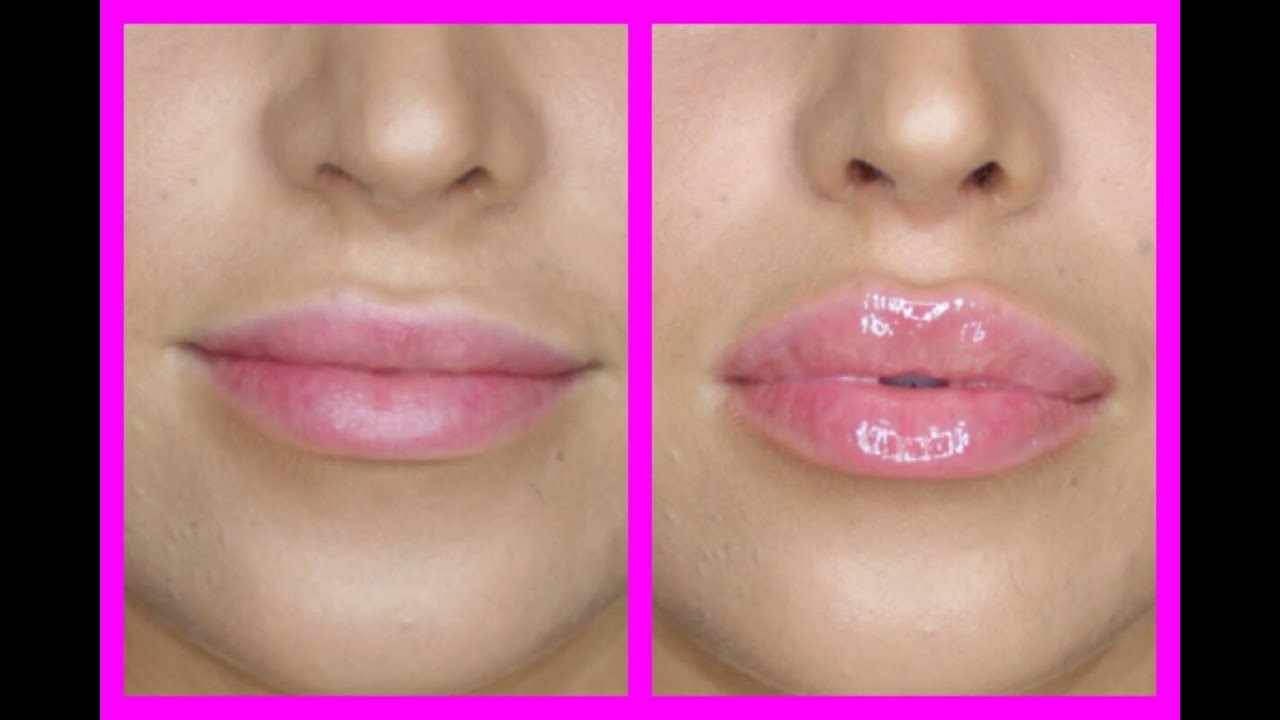 lip plumper test