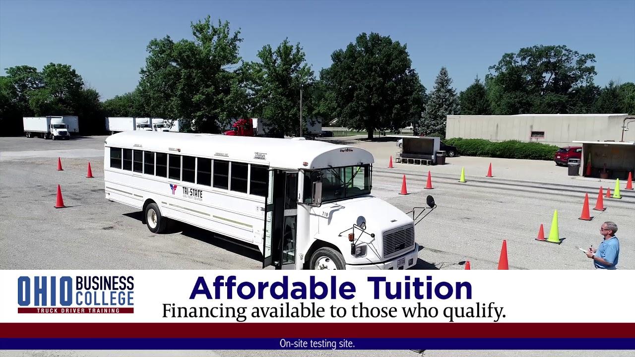 Truck Driving School | CDL Programs | Ohio Business College