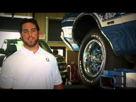 Indy Tire Commercial with Trane Fox N Anthony Castonzo of the Colts!