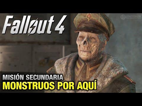 Fallout 4 - Misión Secundaria - Monstruos por aquí (Submarino chino - 1080p 60fps)