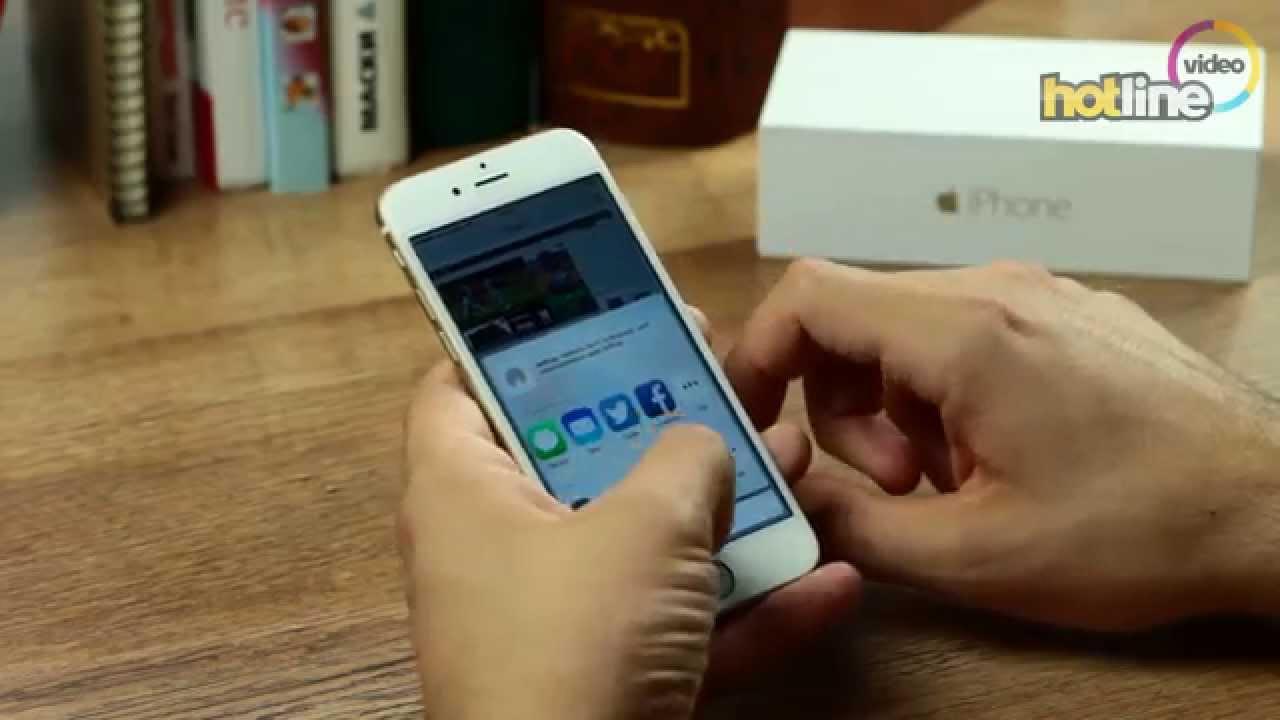 Обзор смартфона Apple iPhone 6 Plus - YouTube