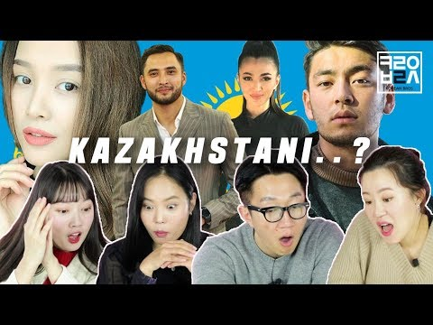 North Korean Defectors react to celebrities of Kazakhstan [Korean Bros]