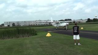 Cessna Caravan Engine Failure   Dead Stick Landing   fail landing   fail landing