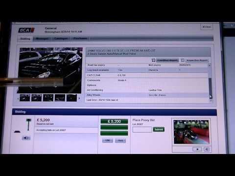 BCA Online Auctions, British Car Auctions Live Online