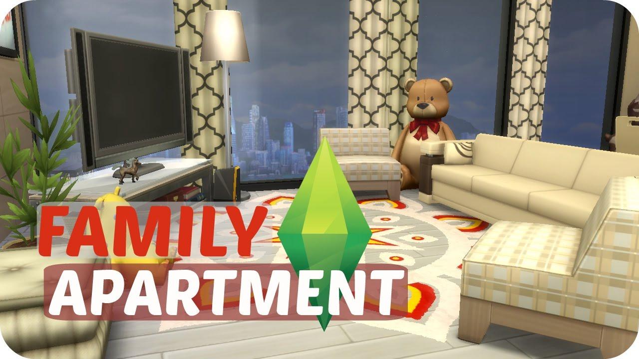 Sims 4 City Living | Modern Family Apartment