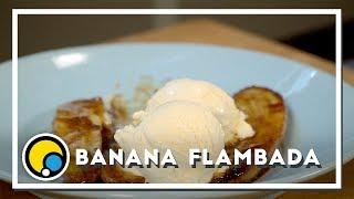 Como fazer receita de Banana Flambada - Renato Carioni