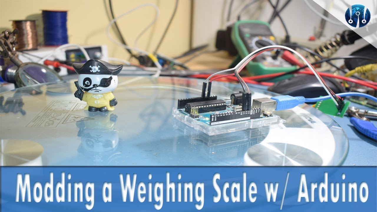 HX711 & Arduino with regular Weighing Scale | IoT Smart Scale #1