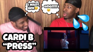 THEY NAKED NAKED!!!!😂 Cardi B - Press (Official Audio) FUNNY REACTION