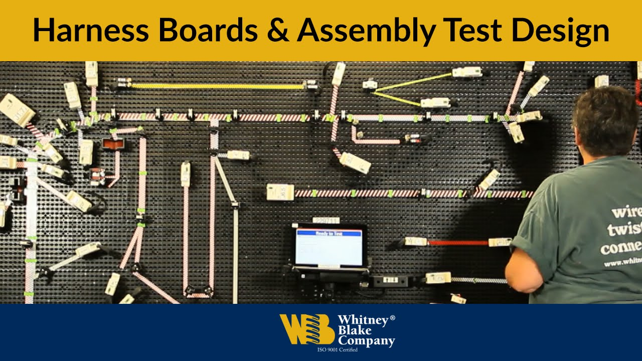 medium resolution of harness boards assembly test design at whitney blake company