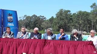 Conferencia de Prensa Grupo Amaszonas en Uruguay