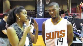Phoenix Suns Media Day with Ronnie Price
