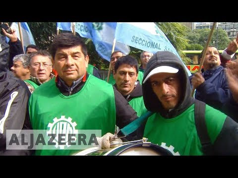 🇦🇷 Argentina unions' leaders arrested in Uruguay