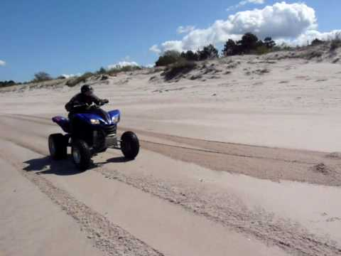 Kawasaki KFX 700 top speed Quad ATV - YouTube