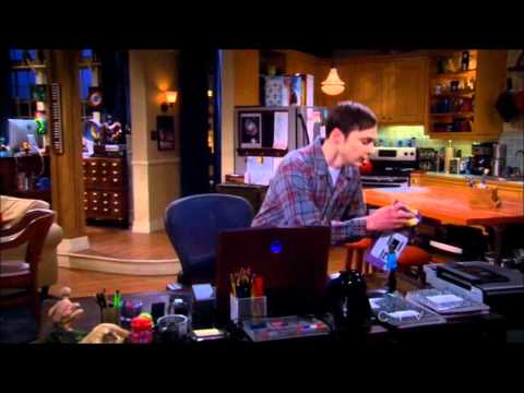 Sheldon's dream with Little Spock - The Big Bang Theory