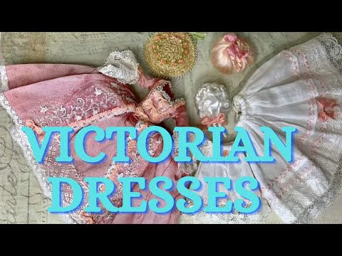 beautiful Victorian fashion dresses and accessories #victoriandresses #victorianfashion