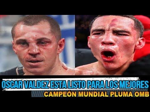 Oscar Valdez y Scott Quigg Fracturados En La Pelea