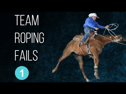 Team Roping Fails - 1