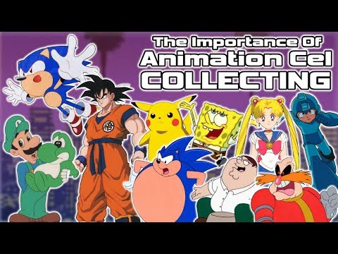 The Importance of Animation Cel Collecting - Sonic, Mario, SpongeBob & More!