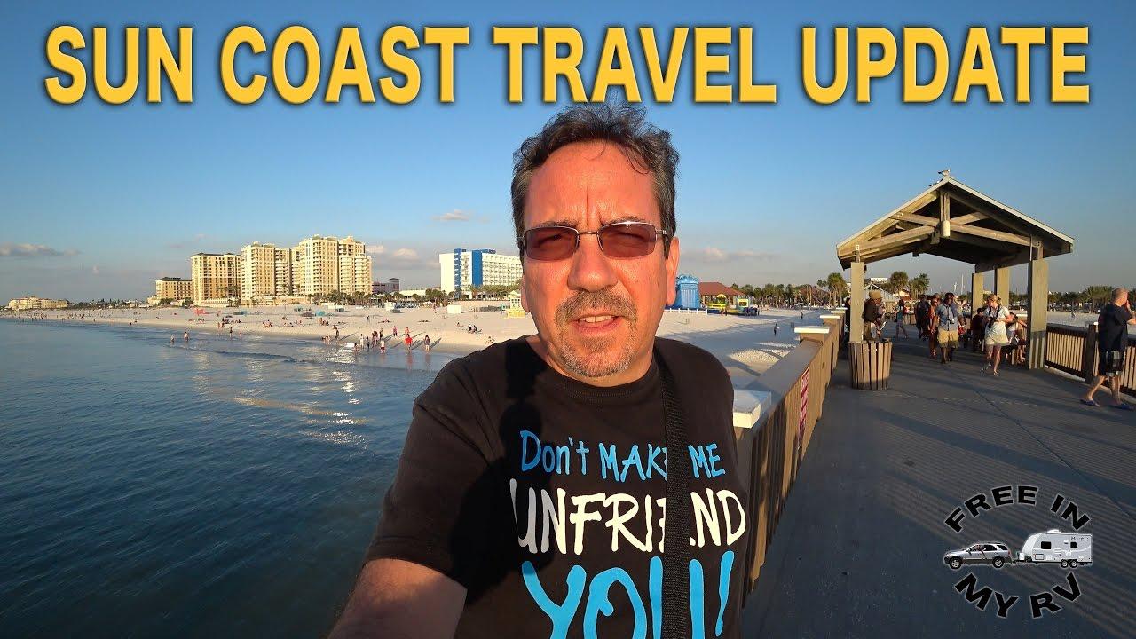 Florida Sun Coast Travel Update | Traveling Robert