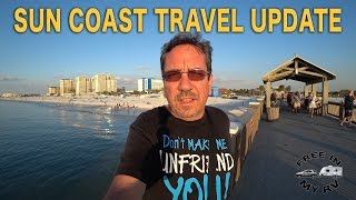 Florida Sun Coast Travel Update | Traveling Robert