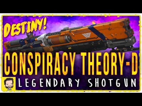 Conspiracy Theory-Douche Legendary Shotgun | Gameplay Review | Destiny (The Taken King)