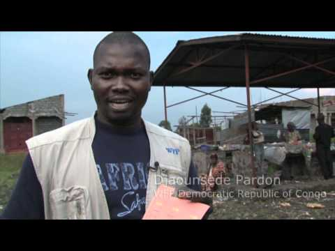 Displaced Families Shop Local In DR Congo