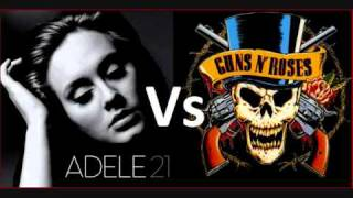 Adele Vs Guns N