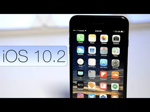 iOS 10.2 is Out! - What's New?