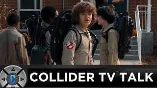 stranger things season 2 trailer review santa clarita diet pilot review collider tv talk