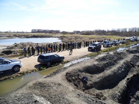 В Калининградской области полицейские пресекли деятельность 87 черных копателей янтаря