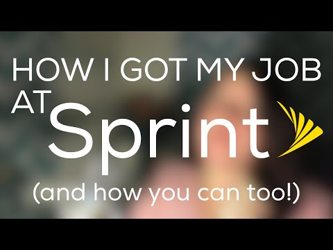 Getting a Job at Sprint | Interview Process HD