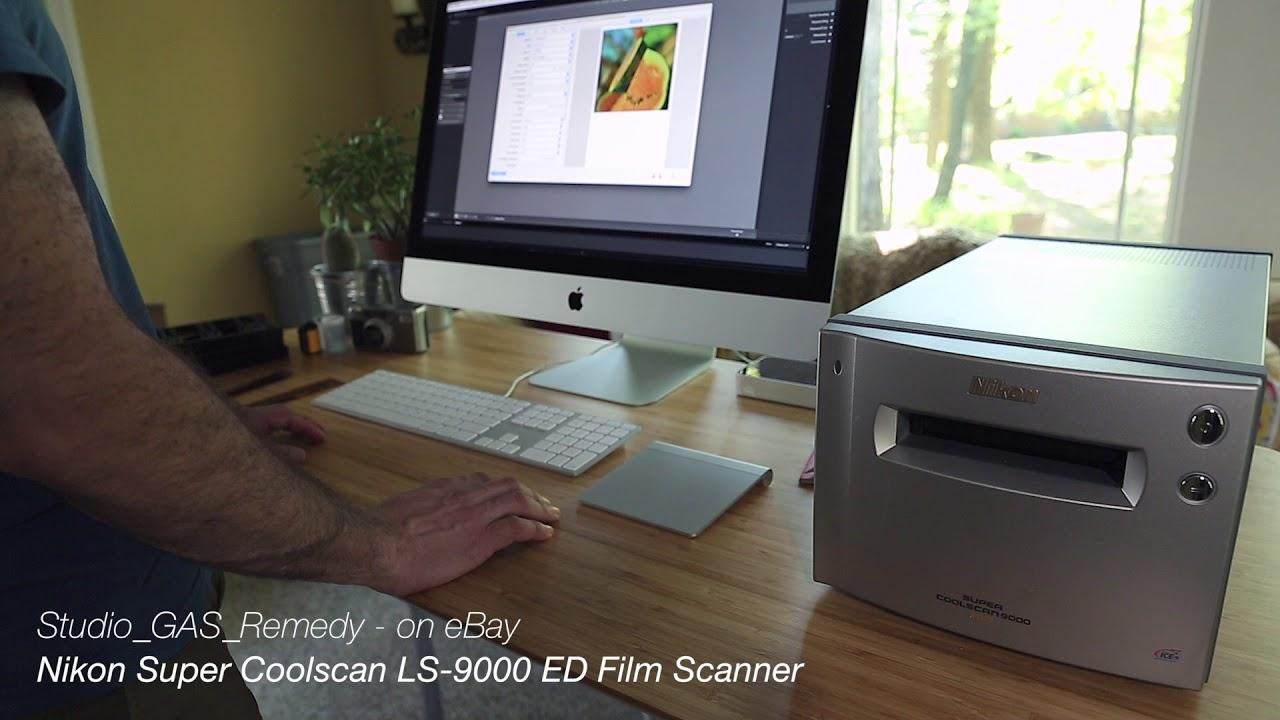 eBay Product Demo - Nikon Super Coolscan LS-9000 ED