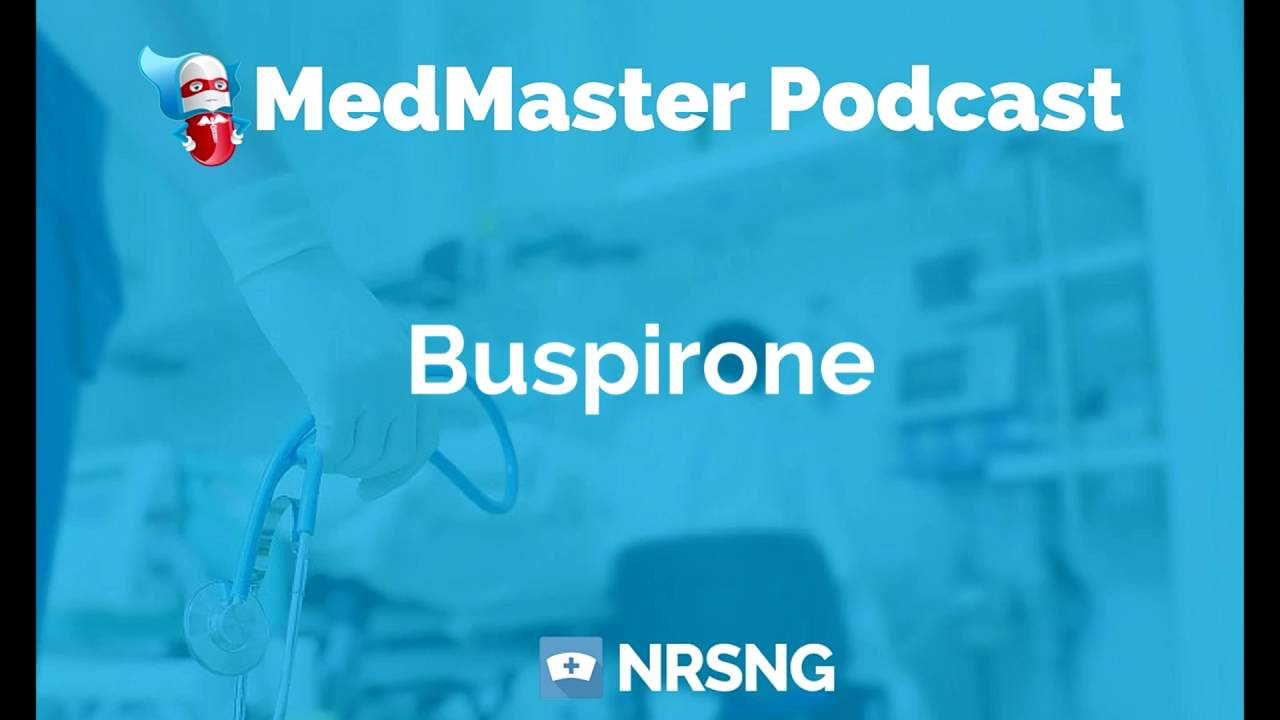 Buspirone Nursing Considerations, Side Effects, and Mechanism of Action  Pharmacology for Nurses