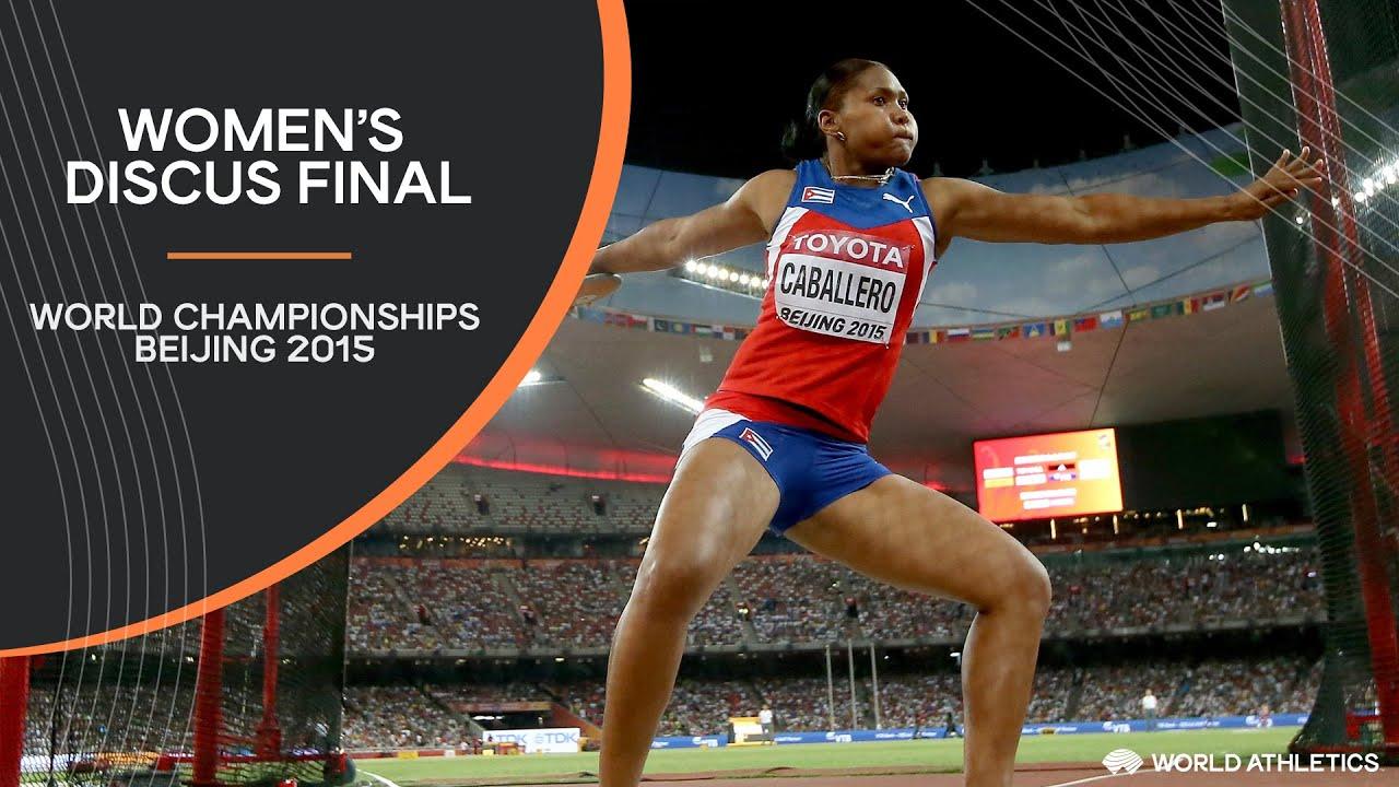 Women's Discus Final | World Athletics Championships Beijing 2015