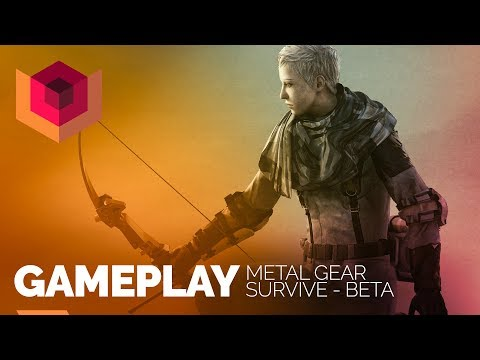 Metal Gear Survive: Gameplay AO VIVO do Beta!