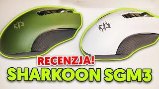 Sharkoon Skiller SGM3 - Bezprzewodowa myszka z sensorem optycznym ATG 4090