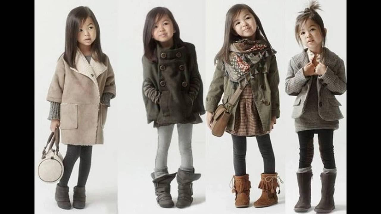 83a368f671 Dicas de Looks de Roupas Infantil Feminina Para o Inverno - YouTube