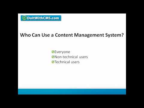 CMS Basics -- Learn About Content Management Systems