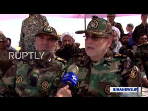Iran: Iraqi and Iranian forces hold joint military drills on border with Iraq