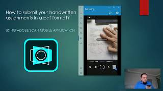 How to convert your handwritten assignment (notes) to pdf using Adobe Scan? screenshot 4