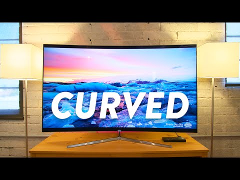 4K + CURVED = AWESOME!